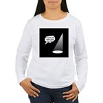 Where's The Spike Mark? Women's Long Sleeve T-Shir