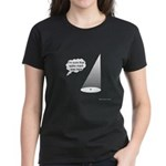 Where's The Spike Mark? Women's Dark T-Shirt
