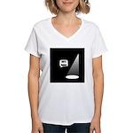 Not Funny Women's V-Neck T-Shirt