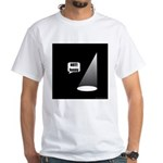 Not Funny White T-Shirt