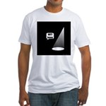 Not Funny Fitted T-Shirt