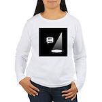 Not Funny Women's Long Sleeve T-Shirt