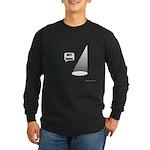 Not Funny Long Sleeve Dark T-Shirt