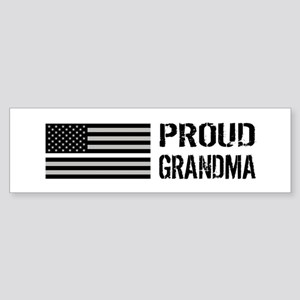 U.S. Flag White Line: Proud Grand Sticker (Bumper)