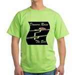 Dancers Raise The Bar Green T-Shirt