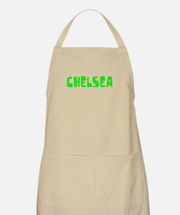 Chelsea Faded (Green) BBQ Apron