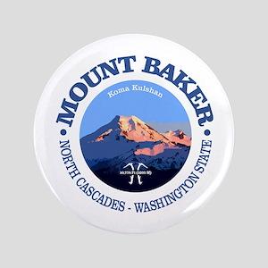 """Mount Baker 3.5"""" Button"""