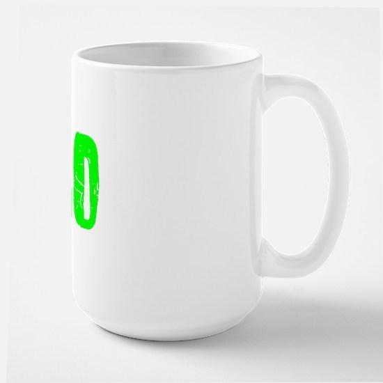 Chico Faded (Green) Large Mug