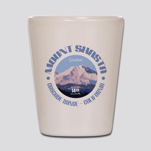 Mount Shasta Shot Glass