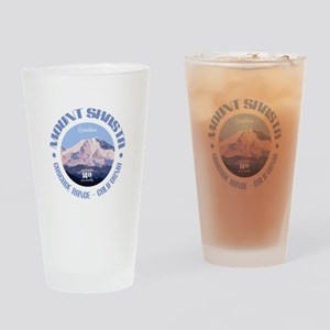 Mount Shasta Drinking Glass