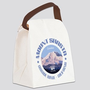 Mount Shasta Canvas Lunch Bag