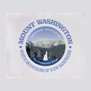 Mount Washington Throw Blanket