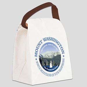 Mount Washington Canvas Lunch Bag