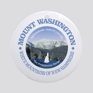 Mount Washington Round Ornament