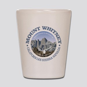 Mount Whitney Shot Glass