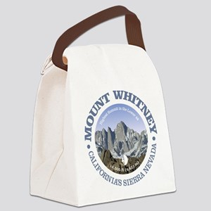 Mount Whitney Canvas Lunch Bag