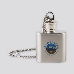 Pikes Peak Flask Necklace