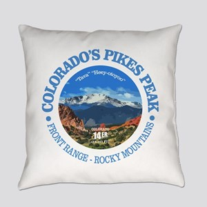 Pikes Peak Everyday Pillow