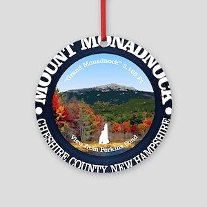 Mount Monadnock Round Ornament