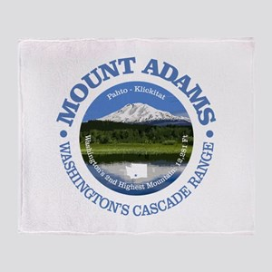 Mount Adams Throw Blanket