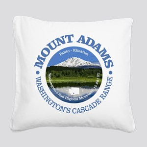 Mount Adams Square Canvas Pillow