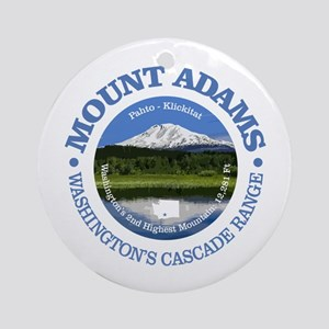 Mount Adams Round Ornament