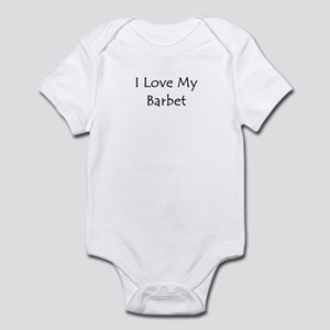I Love My Barbet Infant Bodysuit