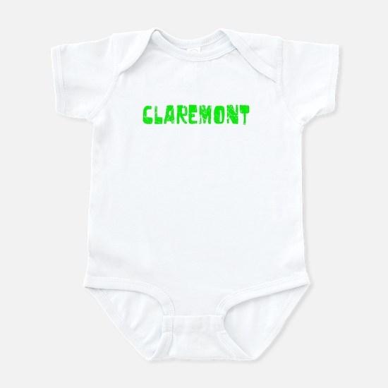 Claremont Faded (Green) Infant Bodysuit