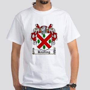 Keating Family Crest White T-Shirt