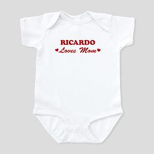 RICARDO loves mom Infant Bodysuit