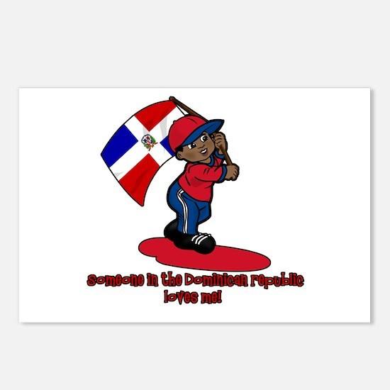 Someone in the Dominican Republic loves me! Postca