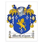 MacColgan Family Crest Small Poster