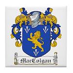 MacColgan Family Crest Tile Coaster