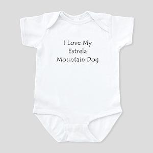 I Love My Estrela Mountain Do Infant Bodysuit