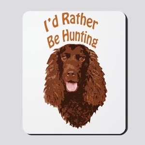 Water Spaniel Hunting Mousepad