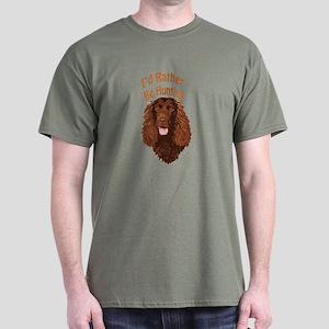 Water Spaniel Hunting Dark T-Shirt