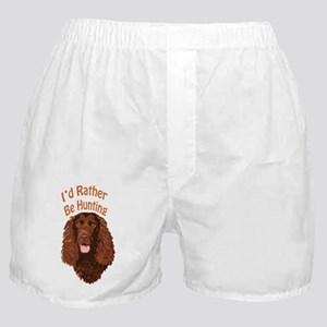 Water Spaniel Hunting Boxer Shorts