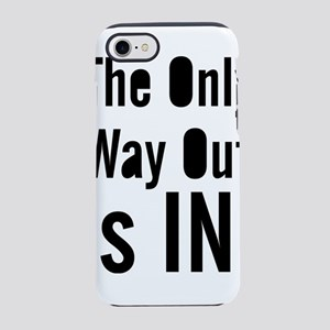 Umsted Design The Only Way O iPhone 8/7 Tough Case