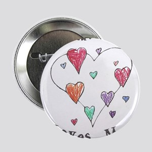 """My Great Grandma Loves Me 2.25"""" Button"""