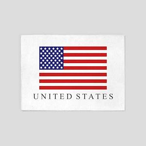 United States flag 5'x7'Area Rug