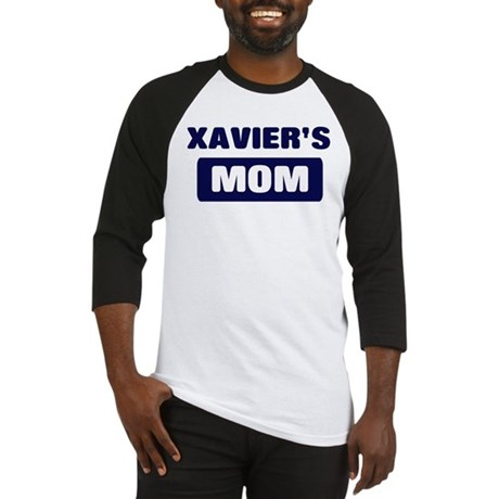 XAVIER Mom Baseball Jersey