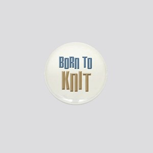 Born to Knit Crafts Mini Button