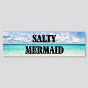Umsted Design Salty Mermaid Bumper Sticker