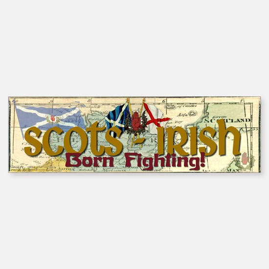 Scots-Irish Bumper Bumper Bumper Sticker