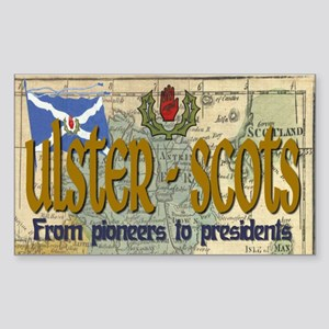 Ulster Scots (scotch-irish) Rectangle Sticker
