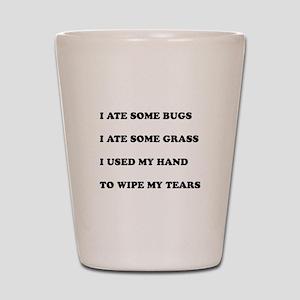 Umsted Design Nacho Libre Quotes Shot Glass