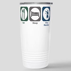 Eat Sleep Fire Marshal Mugs
