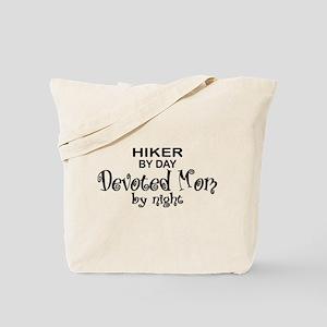 Hiker Devoted Mom Tote Bag