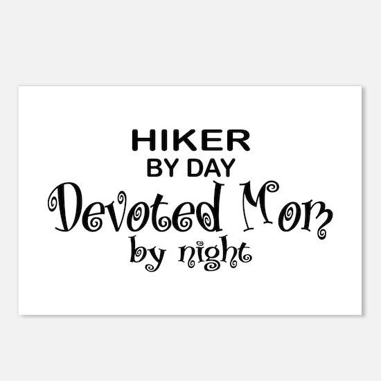 Hiker Devoted Mom Postcards (Package of 8)