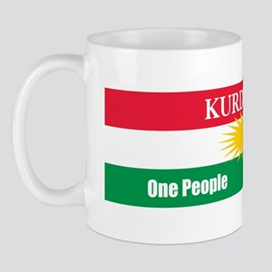 Kurdish Nation Design Mug